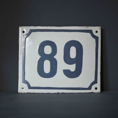 SMALL METAL NUMBERS