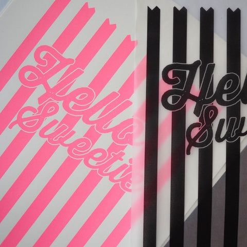 HELLO SWEETIE SCREEN PRINT