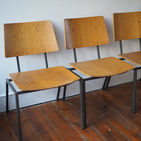 DANISH STACKING CHAIRS