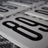 LARGE METAL STREET NUMBERS