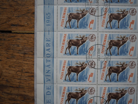 UNUSED VINTAGE STAMPS - STAG