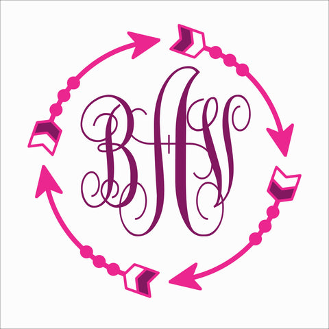 SIGN Design - Arrow Monogram