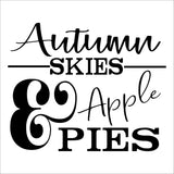 SIGN Design - Autumn Skies