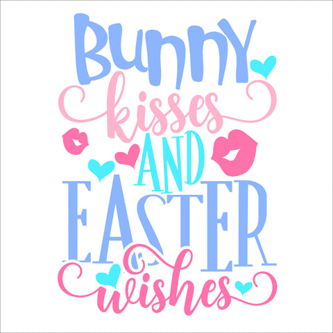 SIGN Design - Bunny Kisses and Easter Wishes