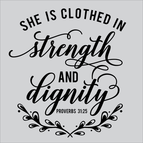 SIGN Design - Clothed in Strength