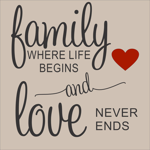 SIGN Design - Family Where Life Begins