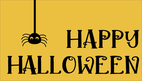 SIGN Design - Door Mat - Halloween with Spider