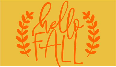 SIGN Design - Door Mat - Hello Fall