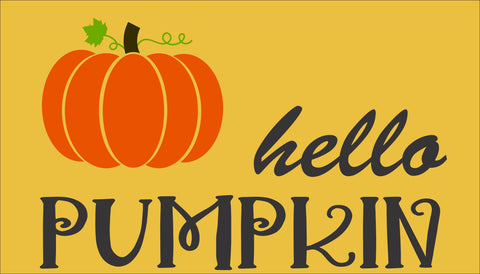 SIGN Design - Door Mat - Hello Pumpkin