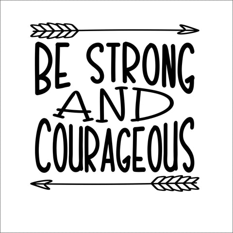 Sign Design - Be Strong