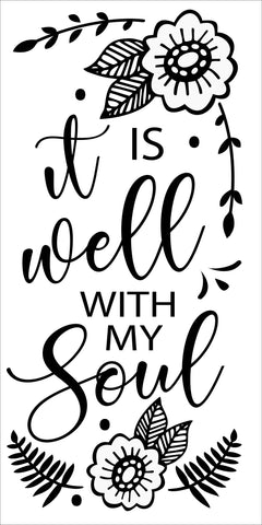 SIGN Design - It is Well With My Soul