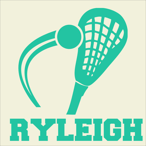 SIGN Design - Personalized Lacrosse