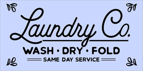 SIGN Design - Laundry Co2