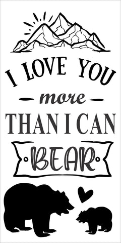SIGN Design - More than I can Bear
