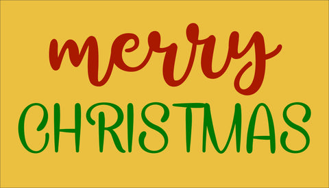 SIGN Design - Door Mat - Merry Christmas