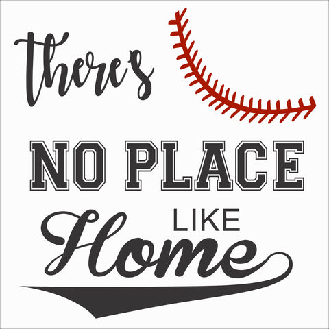 SIGN Design - Baseball - No Place Like Home