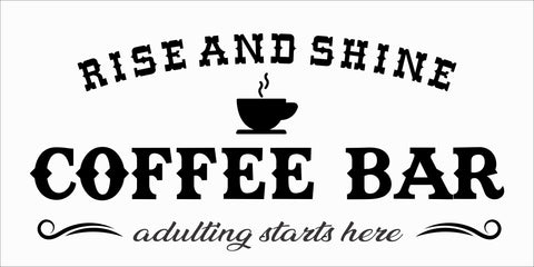 SIGN Design - Rise and Shine Coffee Bar