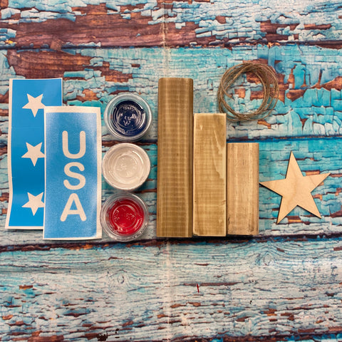 RTS - DIY Kit - Patriotic mini firecracker set