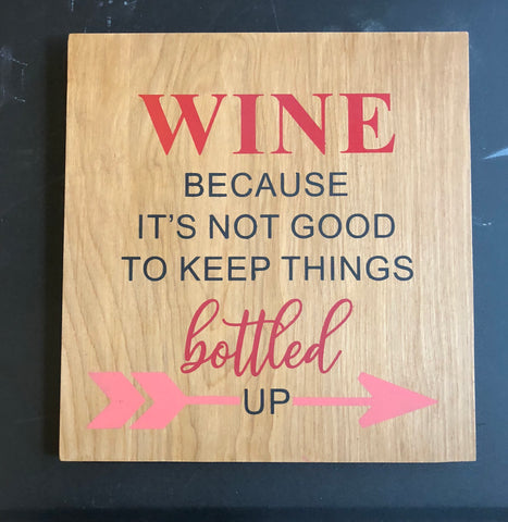 SIGN Design - Wine Bottled Up