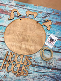 RTS - DIY Kit Hocus Pocus Door Hanger