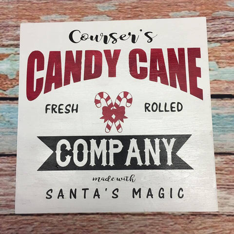 SIGN Design - Christmas - Personalized Candy Cane Company