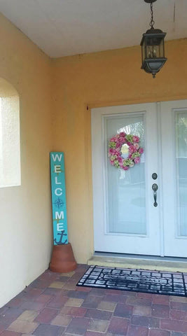 Sign Design - Porch Sign - Welcome Beachy Version