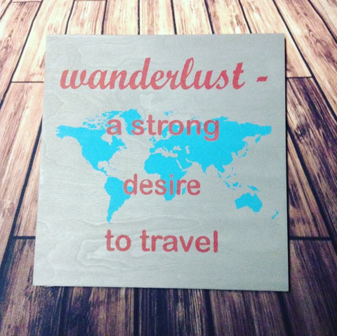 SIGN Design - Wanderlust