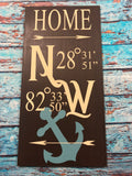 SIGN Design - Coordinates of Home