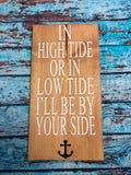 SIGN DESIGN - High Tide