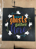 SIGN Design - Halloween - Ghosts gather here