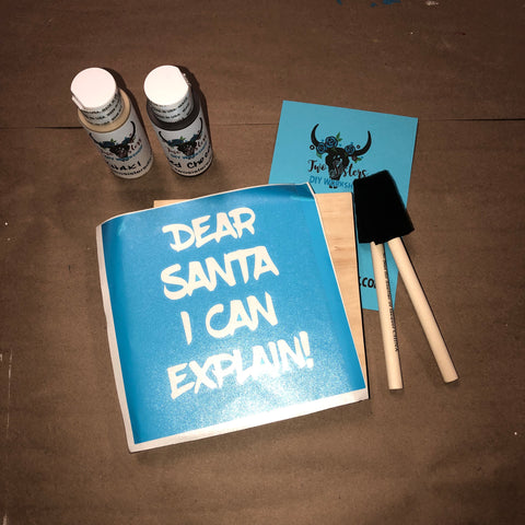 RTS - Ready To Ship - Christmas Take & Make - Dear Santa