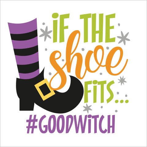 SIGN Design - Halloween - If The Shoe Fits