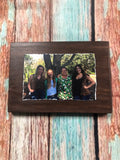 Wood Photo Blocks and Photo Pallets