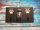 SIGN DESIGN - Dog Treat and Leash Holder Large