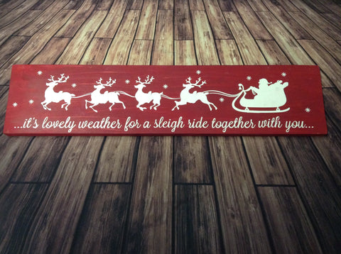 SIGN Design - Christmas - Sleigh ride together