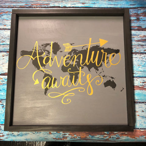 SIGN Design - Adventure Awaits World