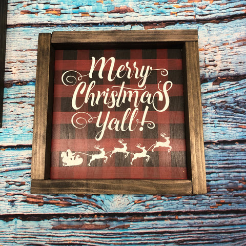 SIGN Design - Christmas - Merry Christmas Y'all