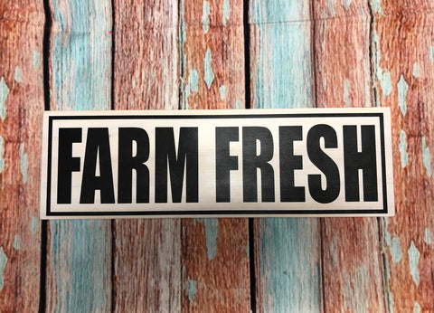 SIGN Design - Farm Fresh