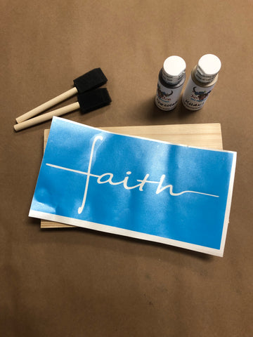 RTS - Ready To Ship - Faith DIY kit
