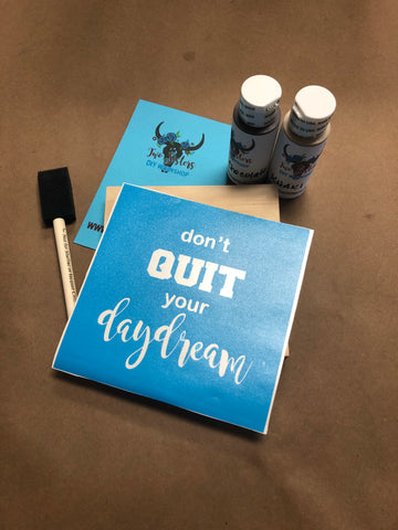 RTS - Ready To Ship - Take & Make - Don't quit your daydream