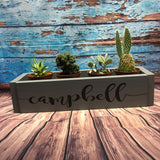 Sign Design - Centerpiece box