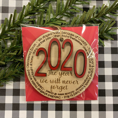 RTS - 2020 Christmas ornament