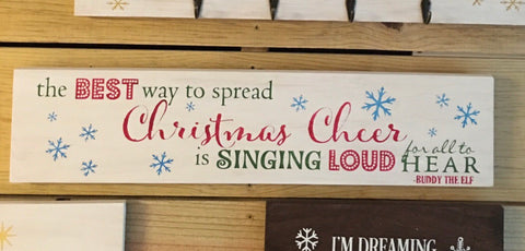 SIGN Design - Christmas - Christmas Cheer