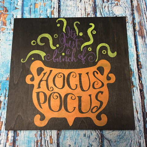 SIGN Design - Halloween - Hocus Pocus