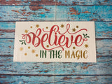 SIGN Design - Christmas - Believe in the Magic