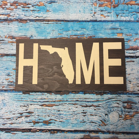 SIGN Design - Home Sign w/ Florida