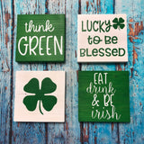 RTS - Ready To Ship - St. Patrick's Take & Make - set of 4