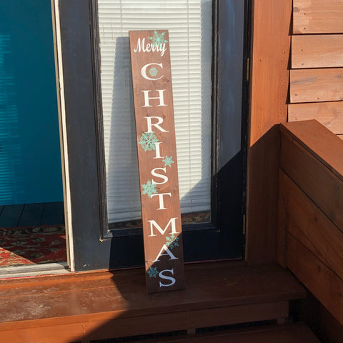 Sign Design - Porch Sign - Merry Christmas