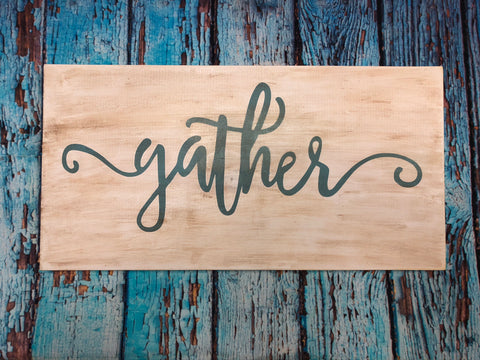 SIGN Design - Gather