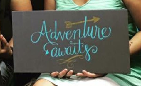 SIGN Design - Adventure Awaits